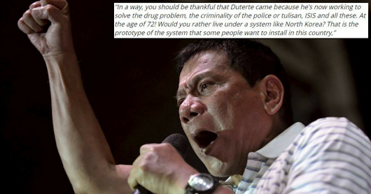 Duterte MIGHT Declare Martial Law, But Enrile Thinks Filipinos Should Be Thankful Duterte Came