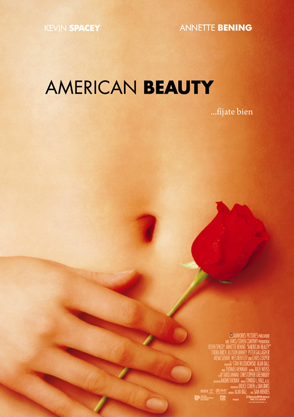 Cartel de American Beauty