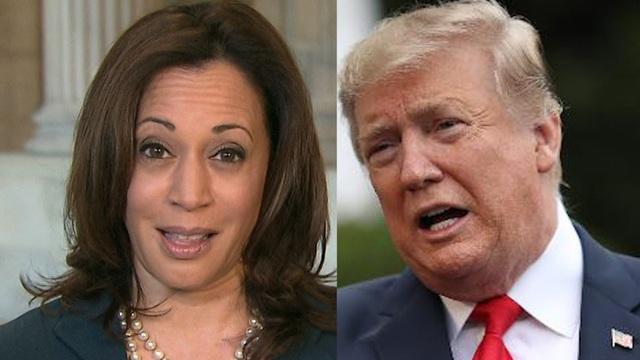 """Bầu cử Mỹ 2020: Ông Trump gọi """"phó tướng"""" của ông Biden là """"quái vật"""""""