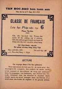 Lớp Học Pháp Văn Tập 6 - Phạm Tất Đắc