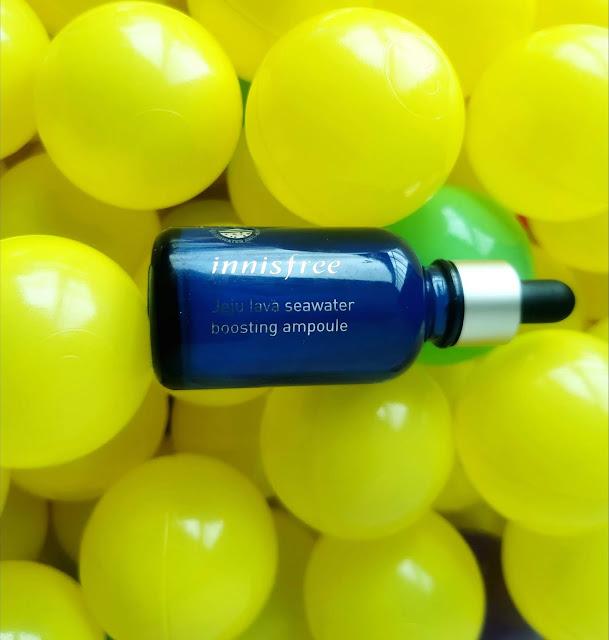 Innisfree Jeju Lava Seawater Boosting Ampoule Skincare