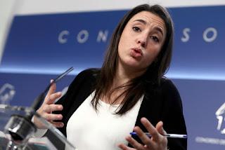 Irene Montero, de Unidos Podemos