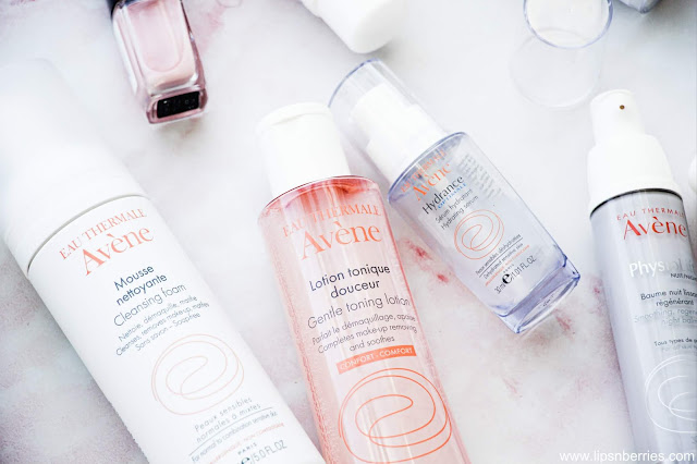 Avene Gentle toning lotion review