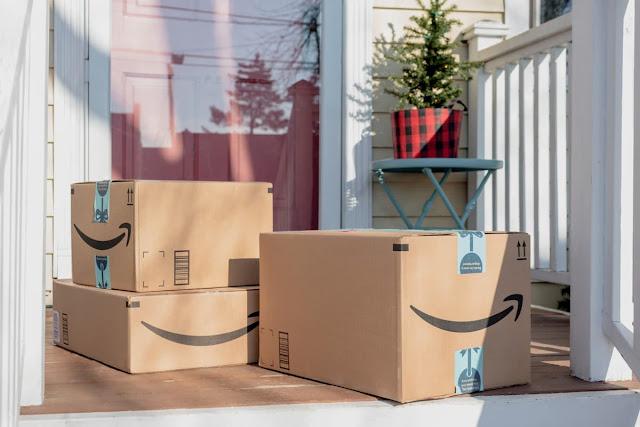 Embalagens da Amazon - expansão do e-commerce