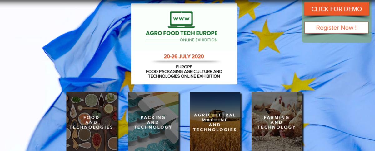 Επιμελητήριο Λάρισας: AGROFOODTECH EUROPE Virtual Exhibition