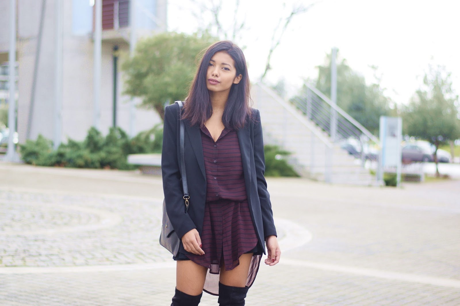 k-meets-style tailored blazer