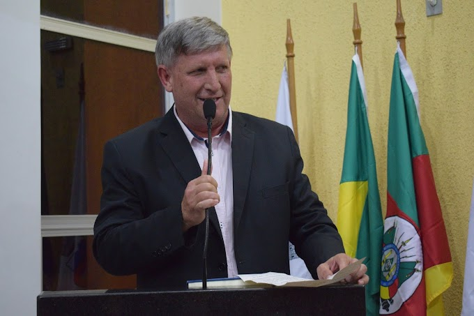 Vereador Neri Facin (PSDB) será o presidente da Câmara Municipal de Gravataí