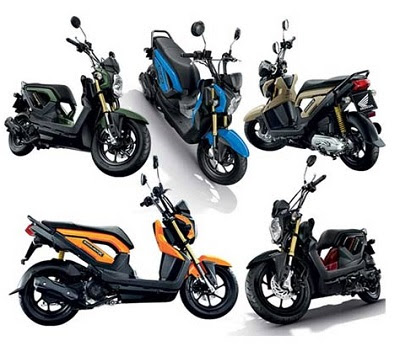 Review Honda Zoomer X