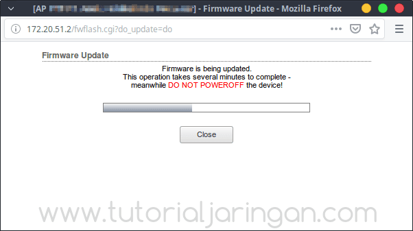 Tutorial Cara Upgrade Firmware Radio Ubiquiti