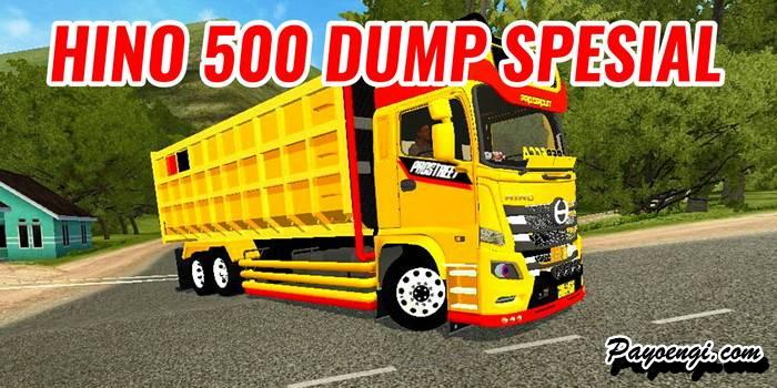 mod hino 500 dump spesial