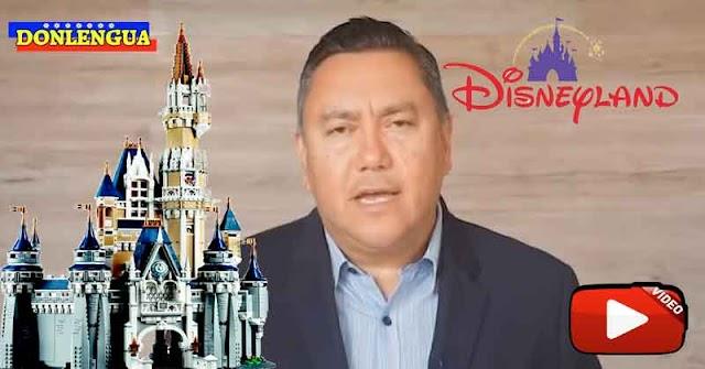 Javier Bertucci casi llora porque no lo dejaron conocer Disneylandia