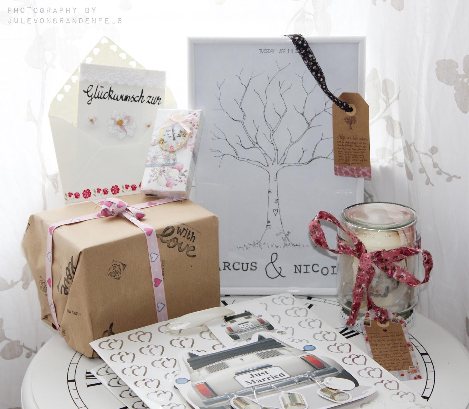 Hochzeitsgeschenk Eltern Geschenke Selber Machen Diy