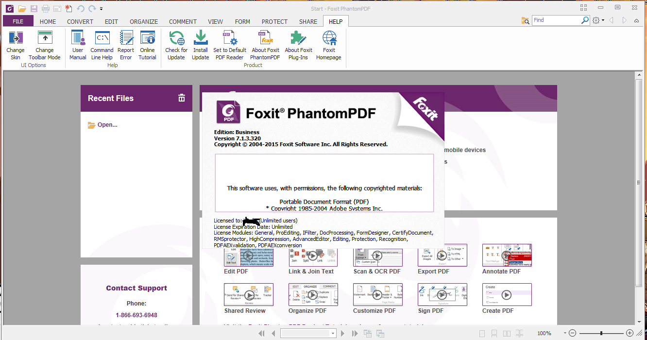 Download Software Full Version Foxit Phantompdf Business