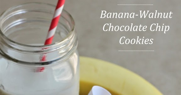 Savor Home: Banana-Walnut Chocolate Chip Cookies