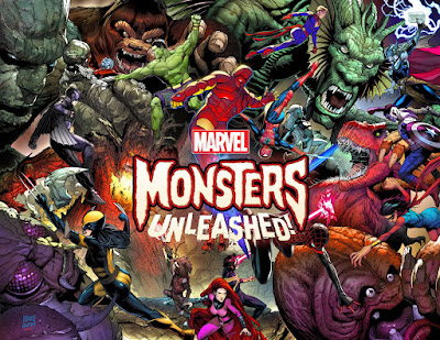 marvel, monsters unleashed