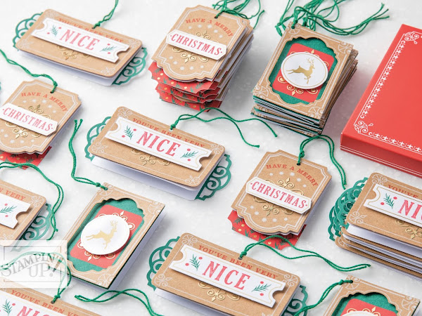 Joy of Giving Tag Kit By Stampin' Up!