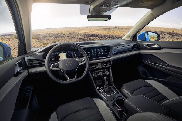 Volkswagen Taos - concorrente do Compass