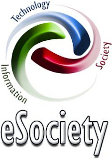 E-society is a society that consists of one or more e-Communities involved in the areas from e-Government, e-Democracy, and e-Business to e-Learning and e-Health, that use information and communication technologies (ICT) in order to achieve a common interests and goals