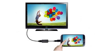 Langkah Menyambungkan Ponsel ke TV dengan Kabel