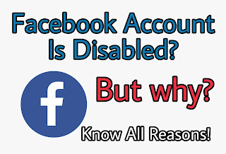 facebook account disabled but why?