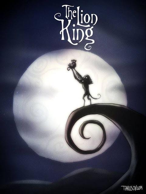 Ilustraciones aterradoras de los clásicos de Disney