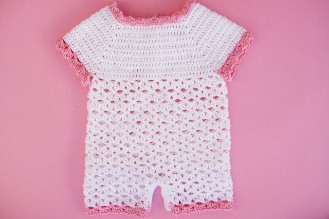 3 - Crochet Imagen Body,pelele o enterizo a crochet y ganchillo por Majovel Crochet