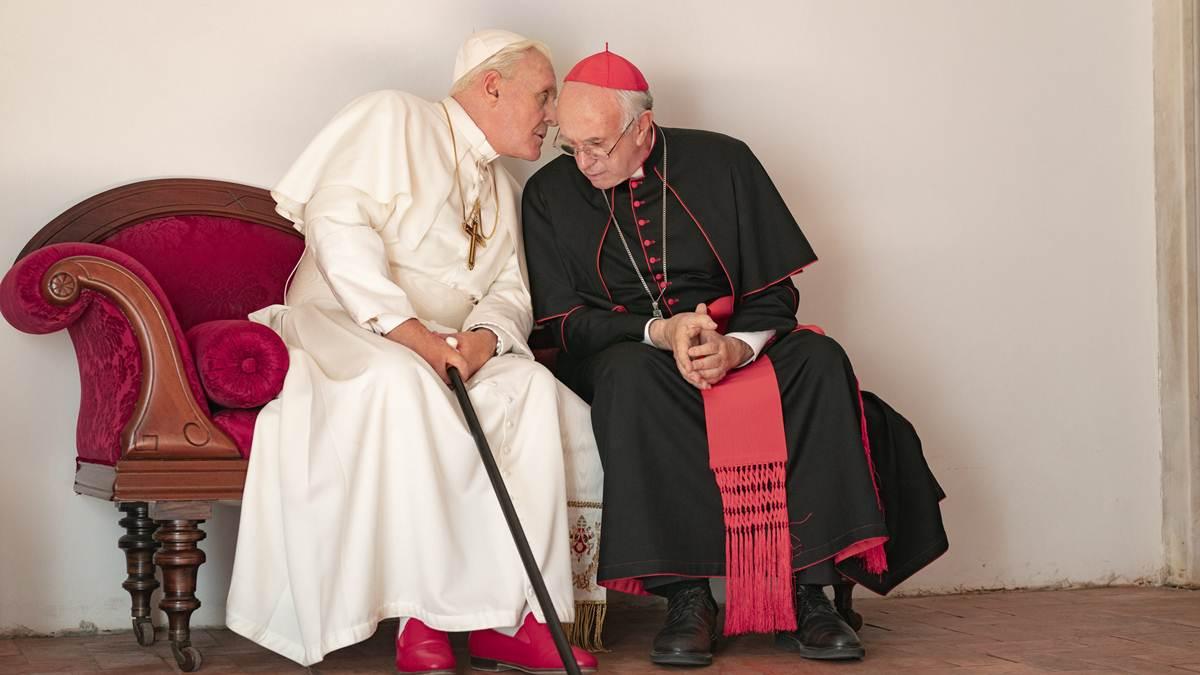 Paus Benediktus - Kardinal Bergoglio di Ruang Air Mata