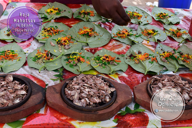 Raja Paana (betel-leaf that is exclusively prepared for the occasion)