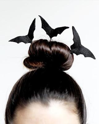peinado halloween  chonguito