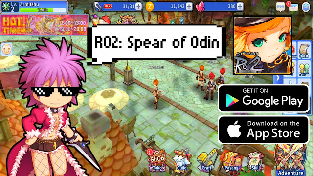 ragnarok 2 spear of odin rpg online mobile game review gameplay