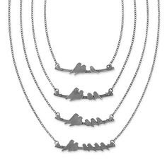 No woman won't like this simple necklace, so buy it for her as a birthday present