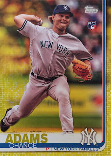 a07e011ba The Chance Adams is cool, and as a great TTM signer, I may need to send his  way for an autograph. Plus, any card with Judge on it is awesome!