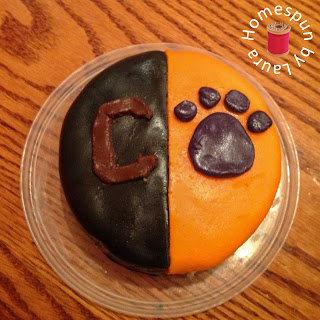 clemson carolina birthday cake
