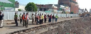 Plt Bupati Cek Fisik  Proyek Pembangunan