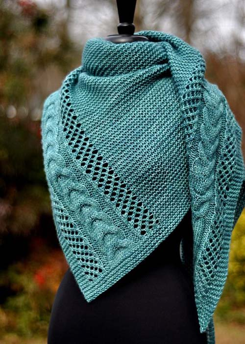 Anisah Shawl - Knitting Pattern