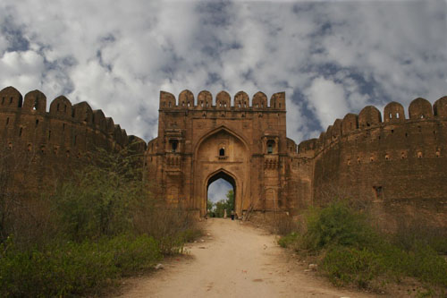 Rohtas fort at Jhelum, Pakistan