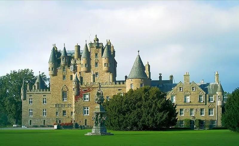 Haunted Glamis Castle, Scotland