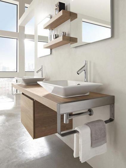 10 casas de banho com mobili rio moderno decora o e ideias for Modelos de muebles para banos modernos