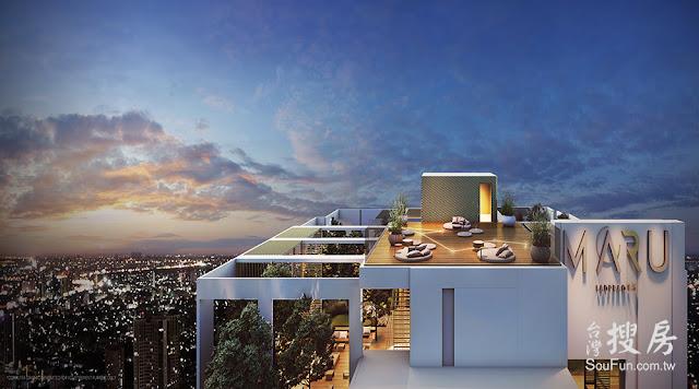 【曼谷】Maru LadPrao15高級住宅,台灣搜房 泰國房地產