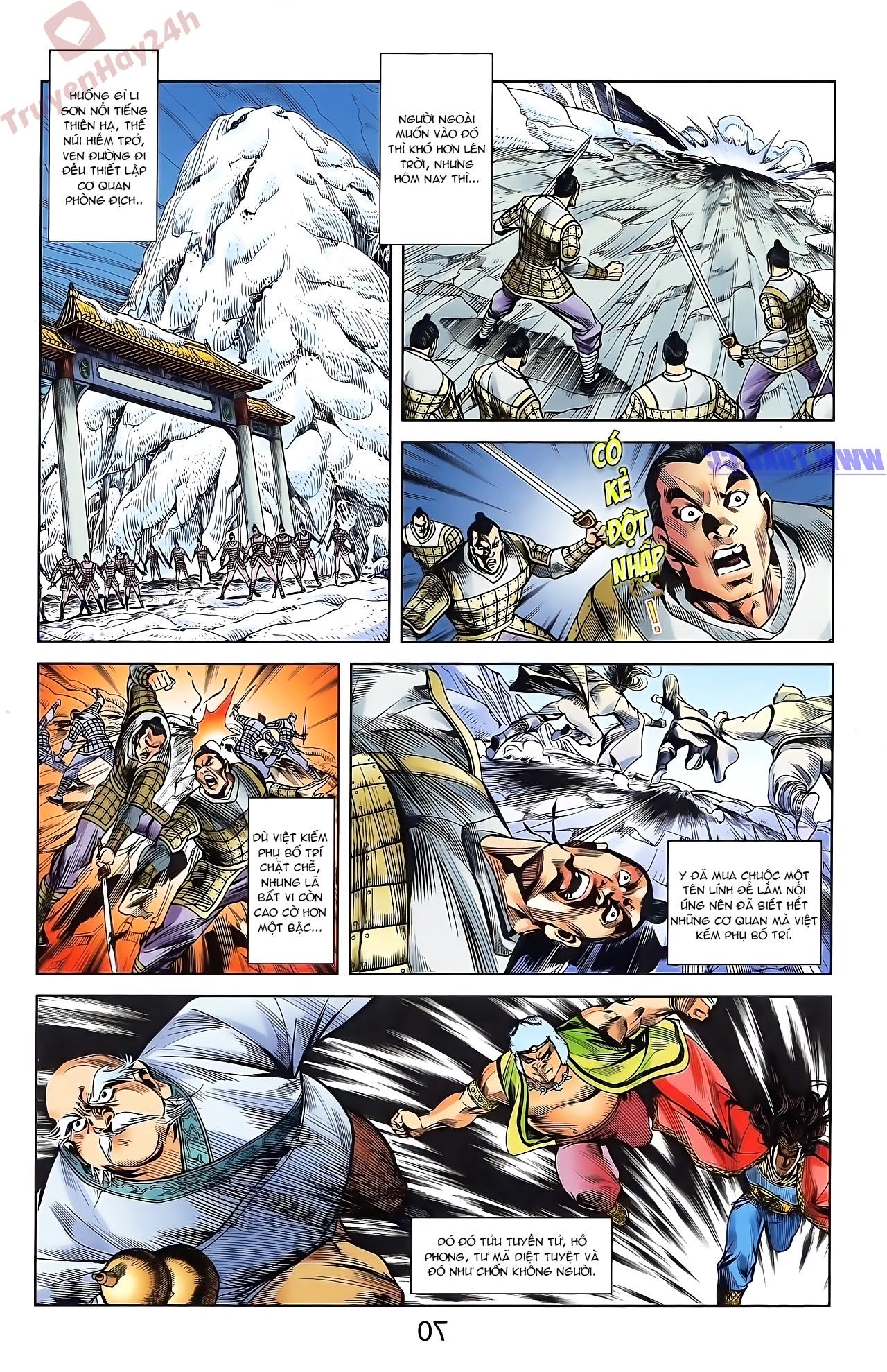 Tần Vương Doanh Chính chapter 44 trang 22