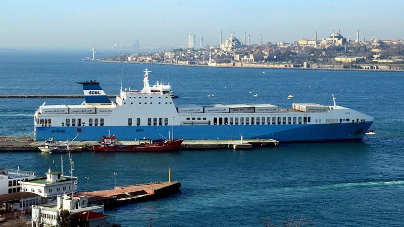 Θαλάσσια σύνδεση με Ro-Ro Κωνσταντινούπολης - Θεσσαλονίκης