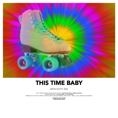 "Aron Scott & ADX Unveil New Single ""This Time Baby"""