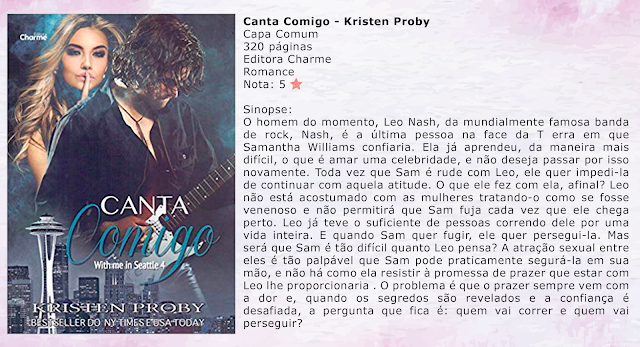 Canta Comigo - With Me in Seattle #04 - Kristen Proby
