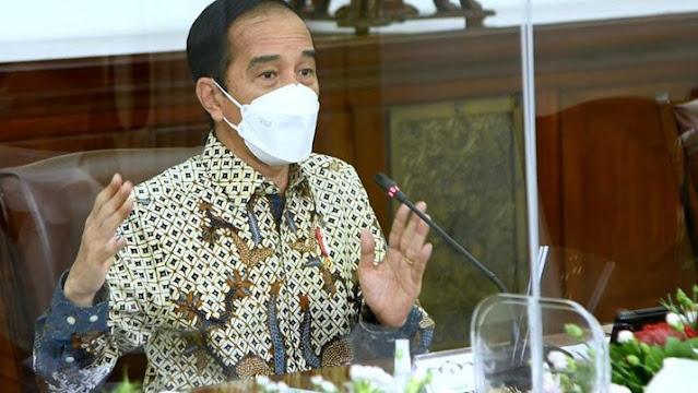 Jokowi Kesal, Akui PPKM Tidak Efektif Tekan Covid-19