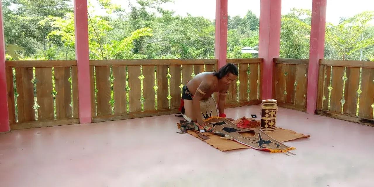 Willy Jhin Kempanyekan Produk Pengrajin Lokal Sanggau