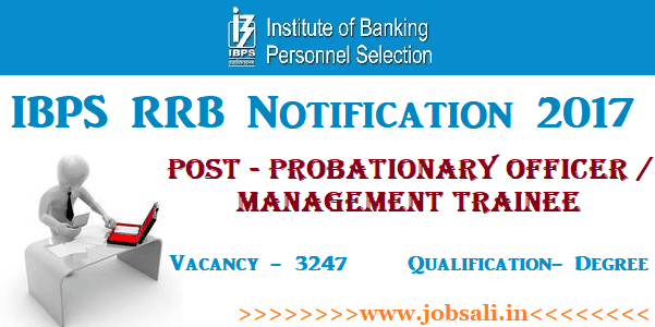 IBPS PO Recruitment 2017, ibps po 2017 apply online , Latest Bank vacancy