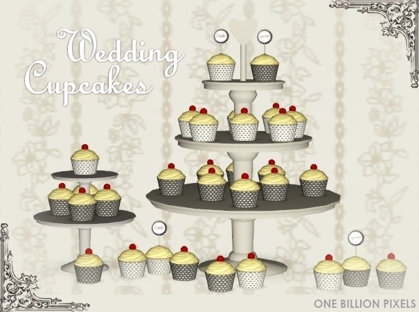 where is the wedding cake in sims 3 generations cupcake set one billion pixels 27146