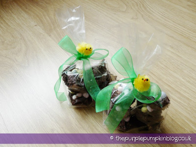 Chocolate Easter Bird's Nests | The Purple Pumpkin Blog