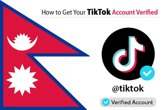 TikTok Nepal: Apply TikTok Verification (Blue Tick) from Nepal