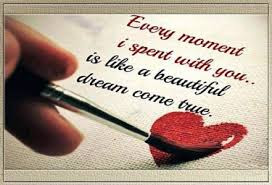 Best Quotes About Love Messages: every moment i spent with you.